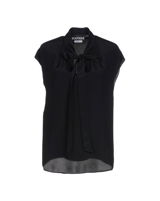 Boutique Moschino - Black Blouse - Lyst