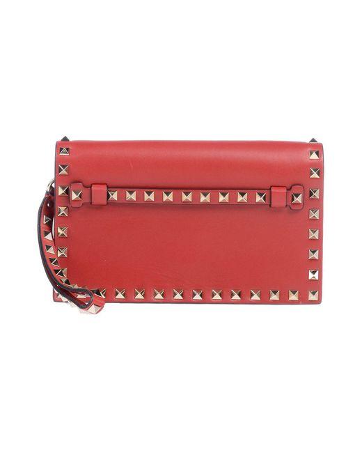 Valentino - Red Handbag - Lyst