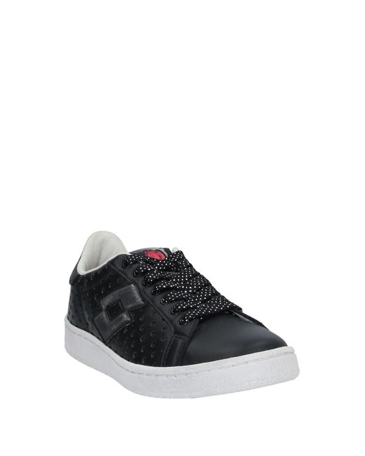 Lotto Leggenda Black Low Sneakers & Tennisschuhe