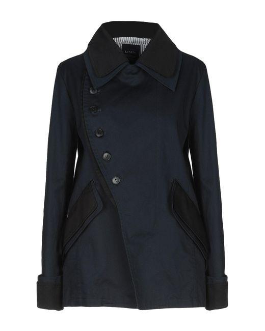Limi Feu - Blue Overcoat - Lyst