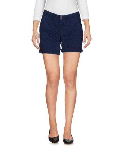 40weft - Blue Shorts - Lyst