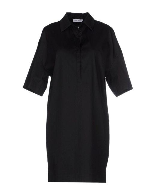 CoSTUME NATIONAL - Black Short Dresses - Lyst