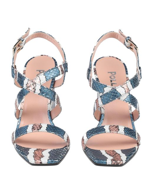 Pollini Blue Sandale
