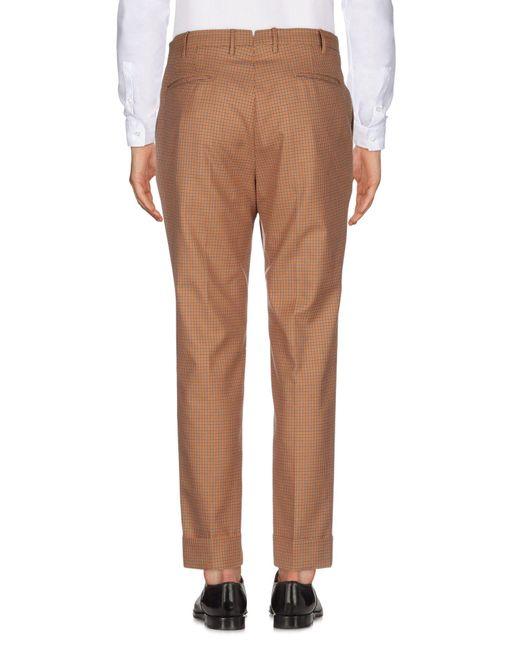 PT01 Pantalon homme de coloris marron zKsMd