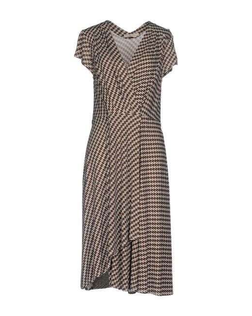 Tory Burch | Brown Knee-length Dress | Lyst