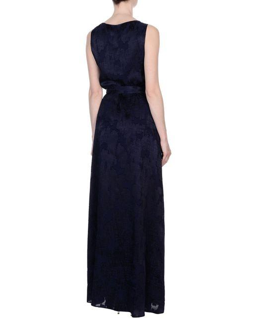 Diane von Furstenberg Blue Long Dress