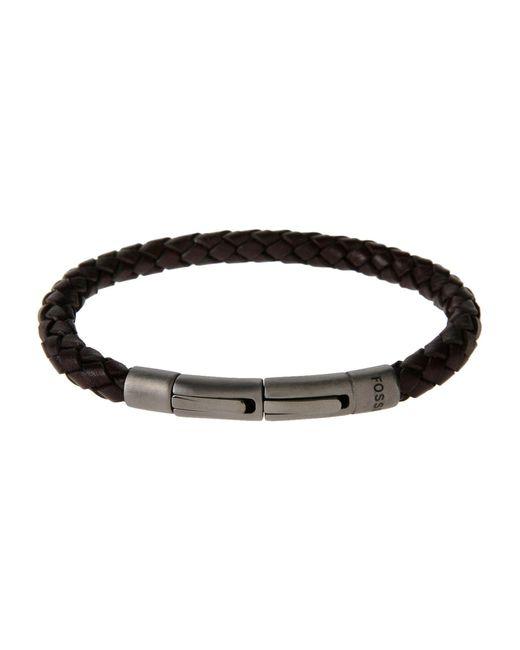Fossil - Brown Bracelet for Men - Lyst
