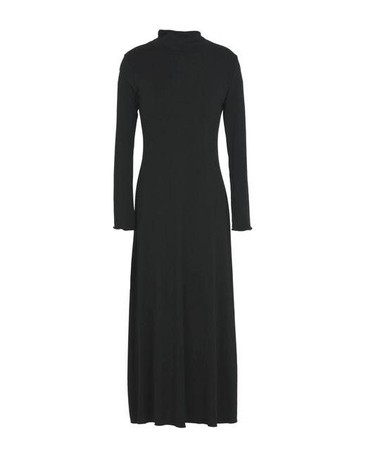 ..,merci Black 3/4 Length Dress