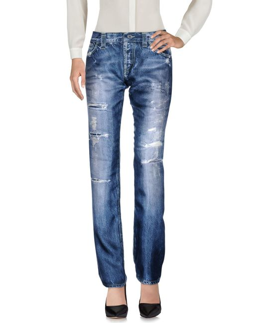 Dondup Blue Casual Pants