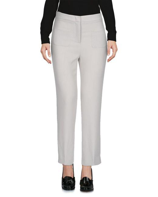 L'Autre Chose Gray 3/4-length Trousers