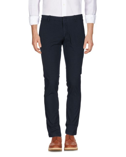 Michael Coal Blue Casual Pants for men