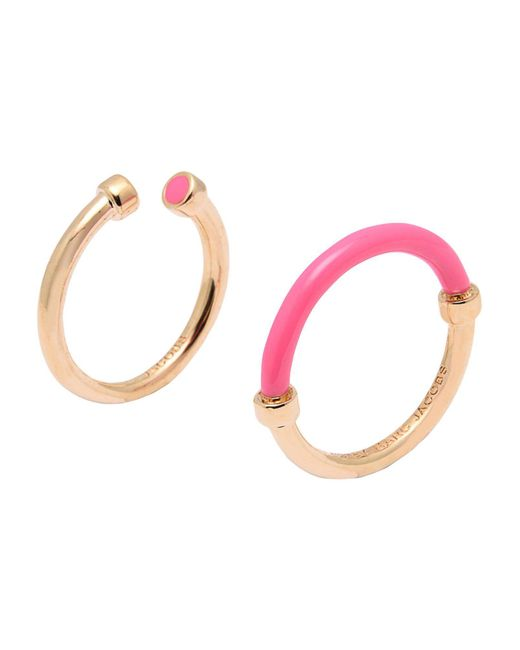 Marc By Marc Jacobs - Pink Rings - Lyst