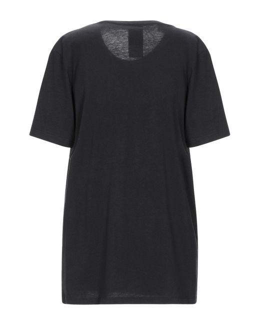 Lin Art Project Camiseta de mujer de color negro Ks94F