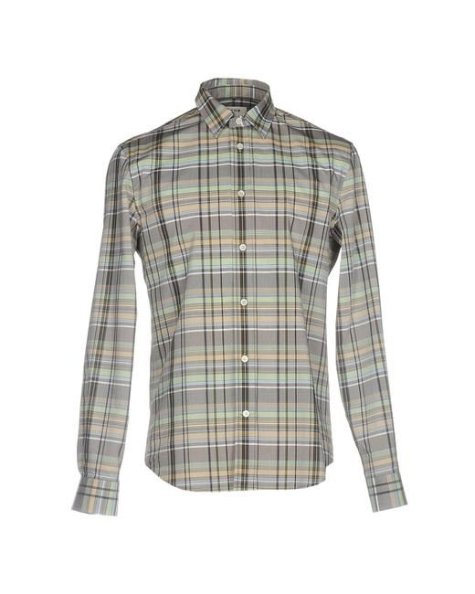 Acne | Gray Shirt for Men | Lyst