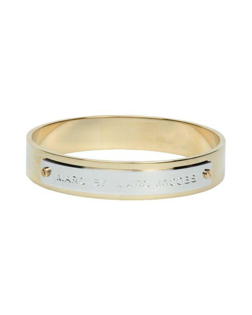 Marc By Marc Jacobs | Metallic Bracelet | Lyst