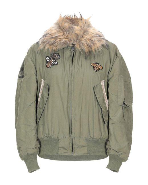 Bebe Green Jacket