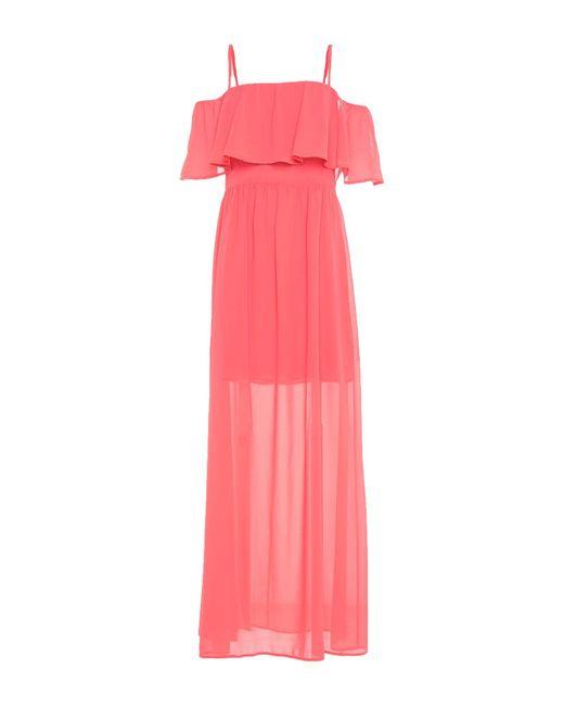 Liu Jo Pink Long Dress