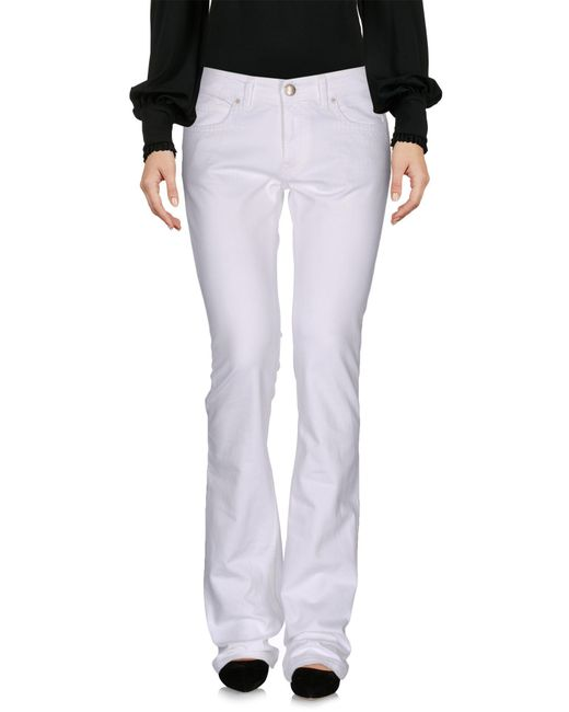 Mauro Grifoni - White Casual Pants - Lyst