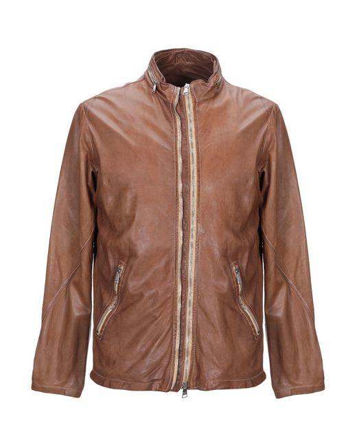 Giorgio Brato Brown Jacket for men