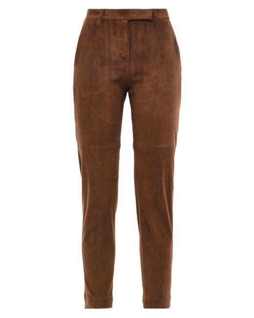 Pantalone di Brunello Cucinelli in Brown