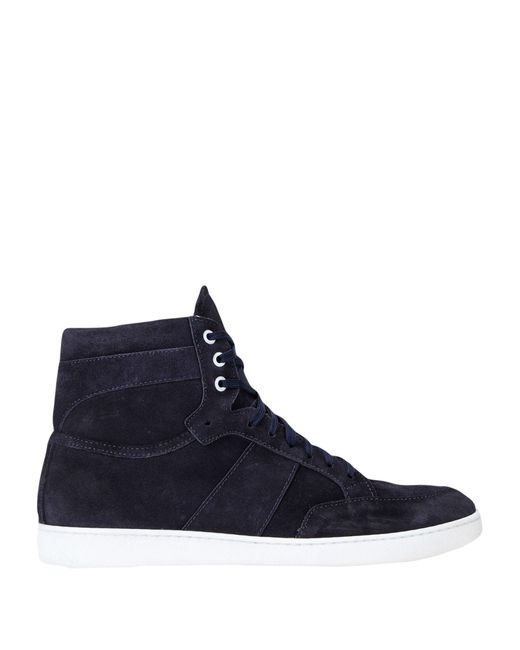 8 by YOOX Blue High-tops & Sneakers for men