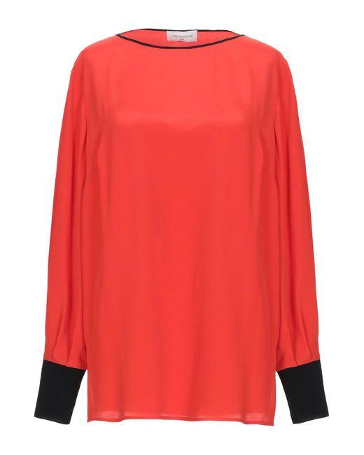 Maria Grazia Severi Red Bluse