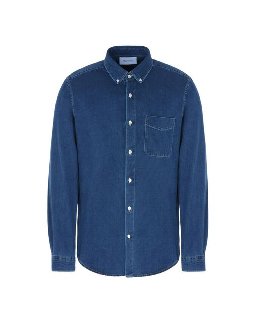 Harmony Paris Jeanshemd in Blue für Herren