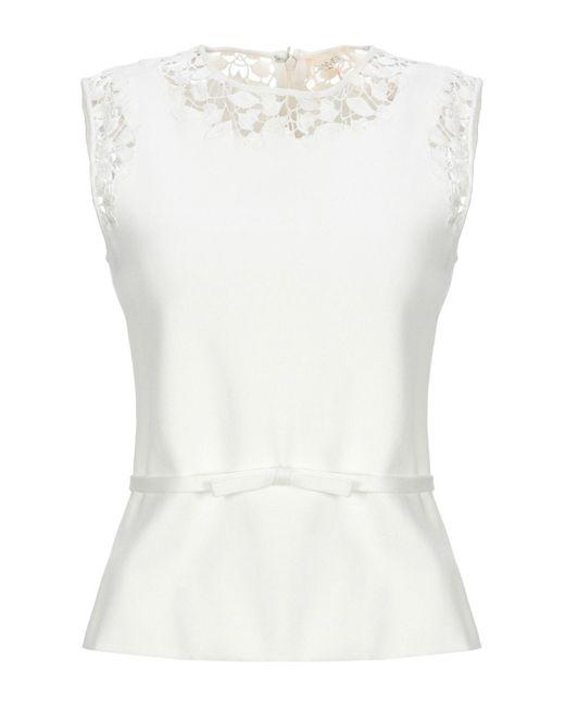 Giamba Pullover de mujer de color blanco