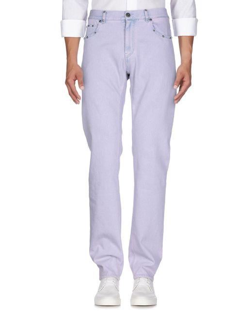 Versace Jeanshose in Purple für Herren
