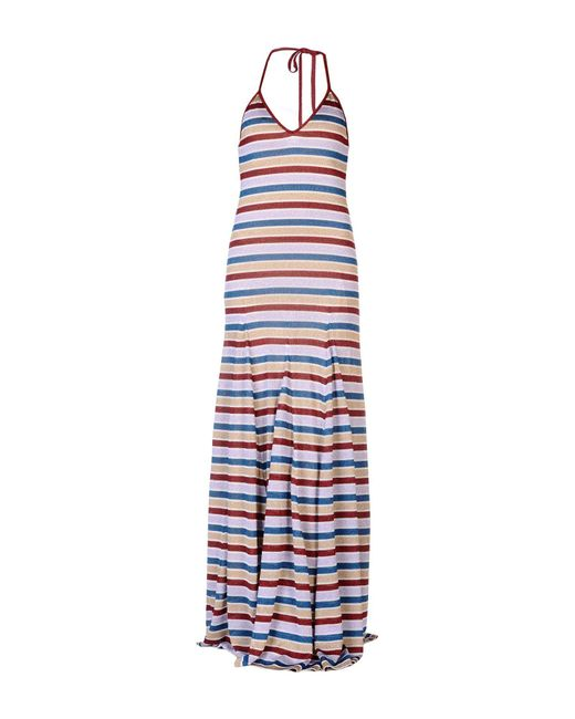 DSquared² - Purple Long Dress - Lyst