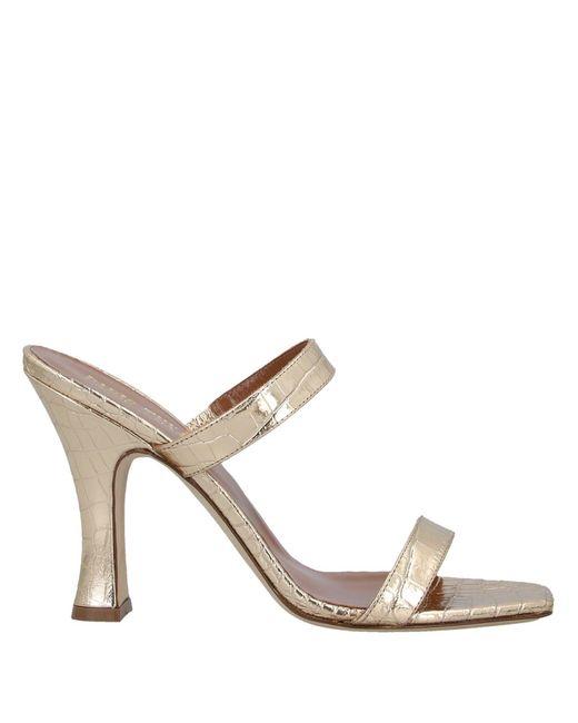 Paris Texas Metallic Sandals