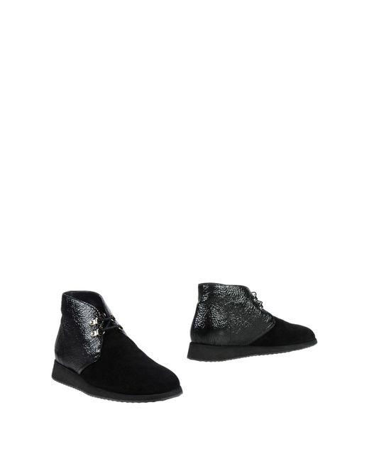 Giuseppe Zanotti - Black Ankle Boots - Lyst