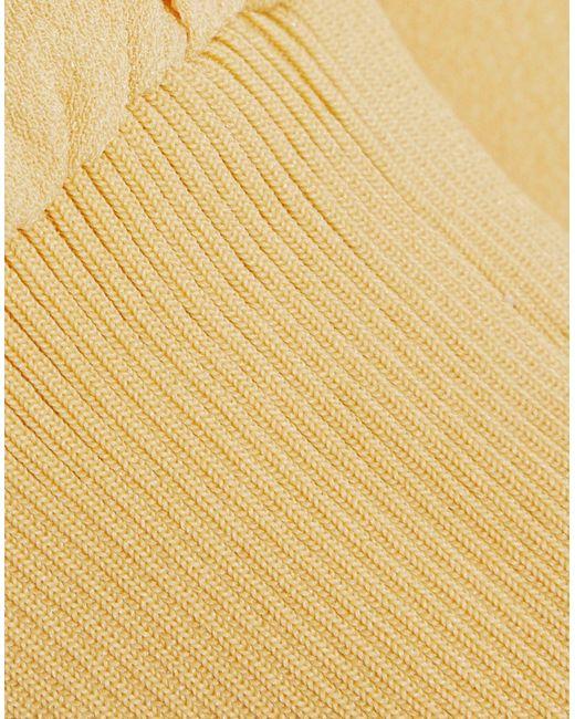 Blusa di Tibi in Yellow