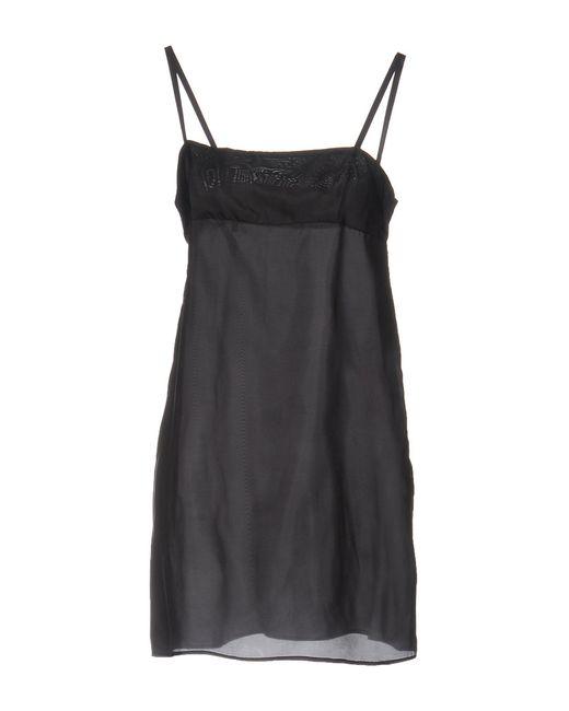 Sacai Black Knee-length Dress