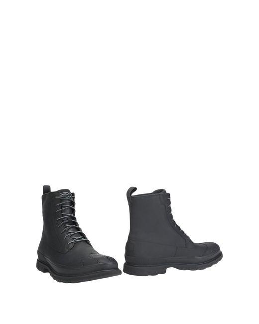 Sorel Black Ankle Boots for men
