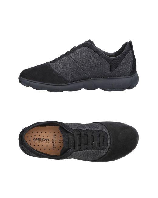 Geox - Black Low-tops & Sneakers - Lyst