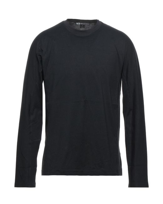 T-shirt di Y-3 in Black da Uomo