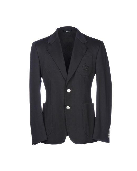 Veste Dolce & Gabbana pour homme en coloris Black