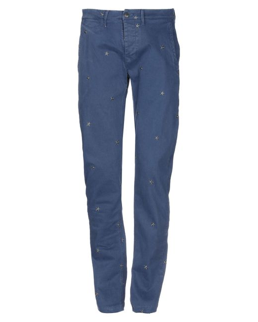 Macchia J Blue Casual Trouser for men