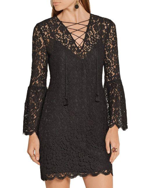 Vestito corto di Rachel Zoe in Black
