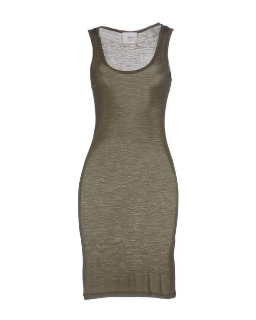Jucca - Green Short Dress - Lyst