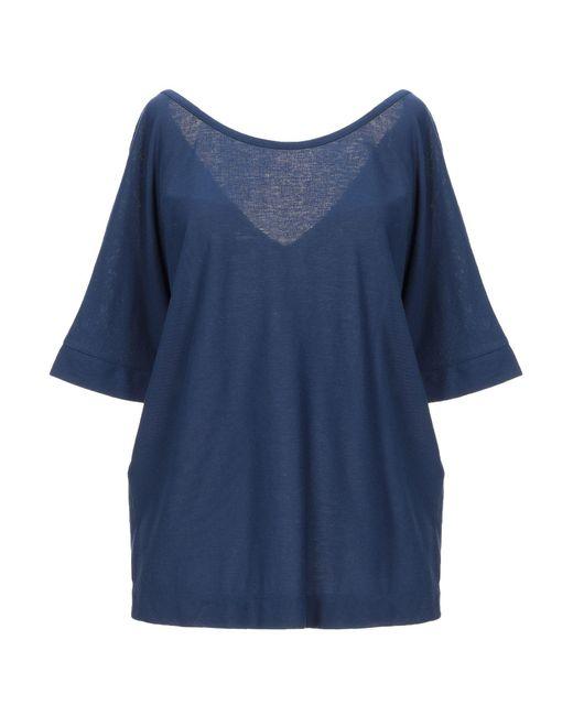 T-shirt Slowear en coloris Blue