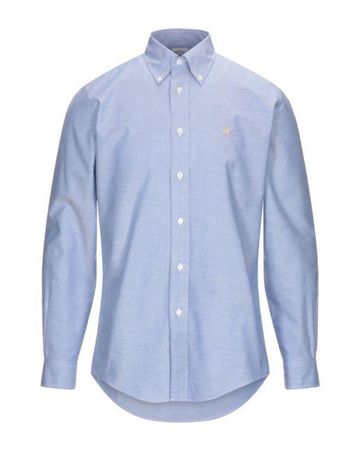 Camisa Brooks Brothers de hombre de color Blue