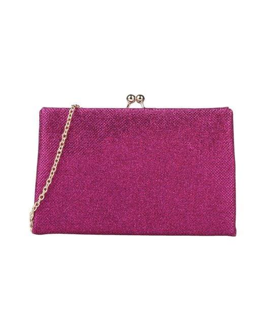 Olga Berg Purple Handbag