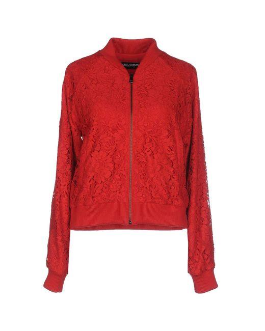 Dolce & Gabbana - Red Jackets - Lyst