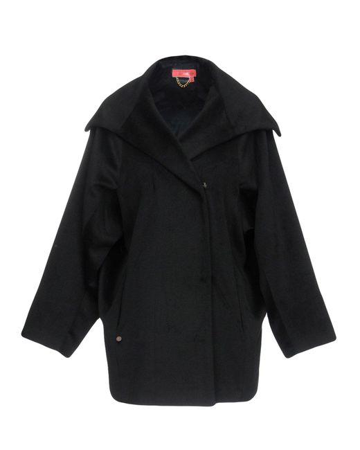 Manteau long Manila Grace en coloris Black