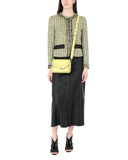 Karl Lagerfeld Yellow Cross-body Bag