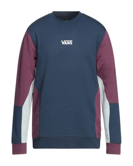 Vans Blue Sweatshirt for men