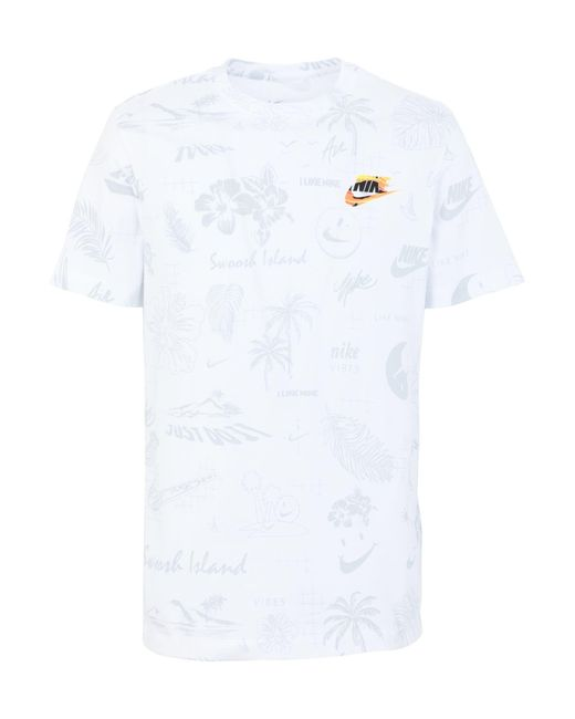 Nike White T-shirt for men
