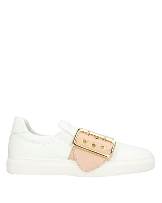 Aurora White Low-tops & Sneakers